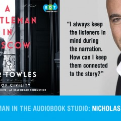 A GENTLEMAN IN MOSCOW–RADIO INTERVIEW