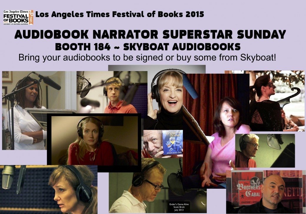 LA TIMES BOOK FESTIVAL; SKYBOAT MEDIA